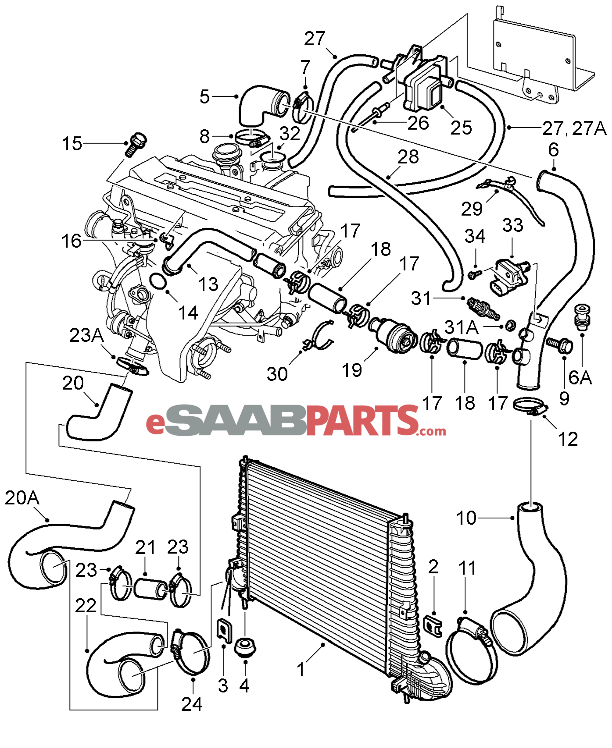 Volvo S60 Belt Diagram