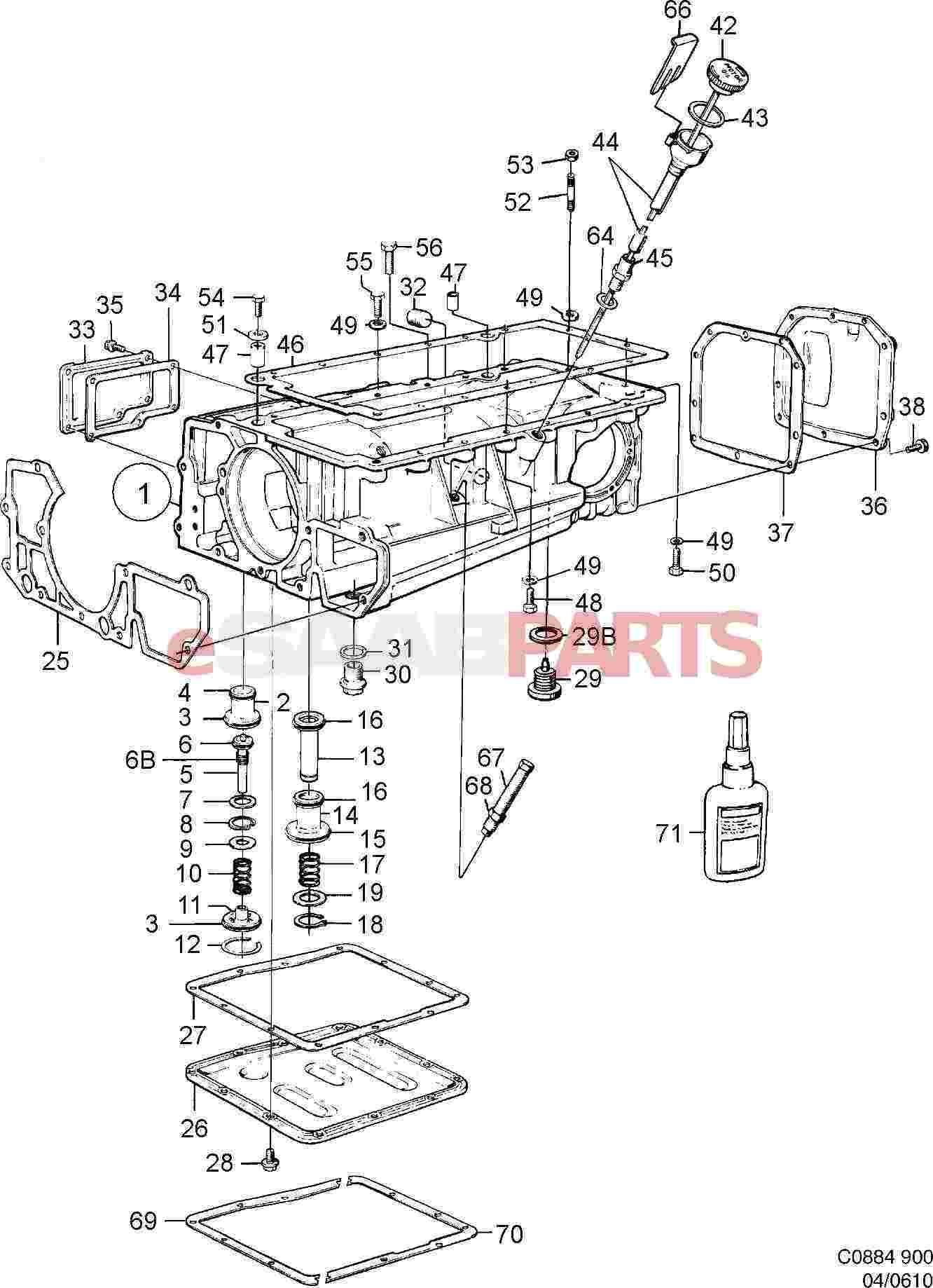 Saab Sealing Compound
