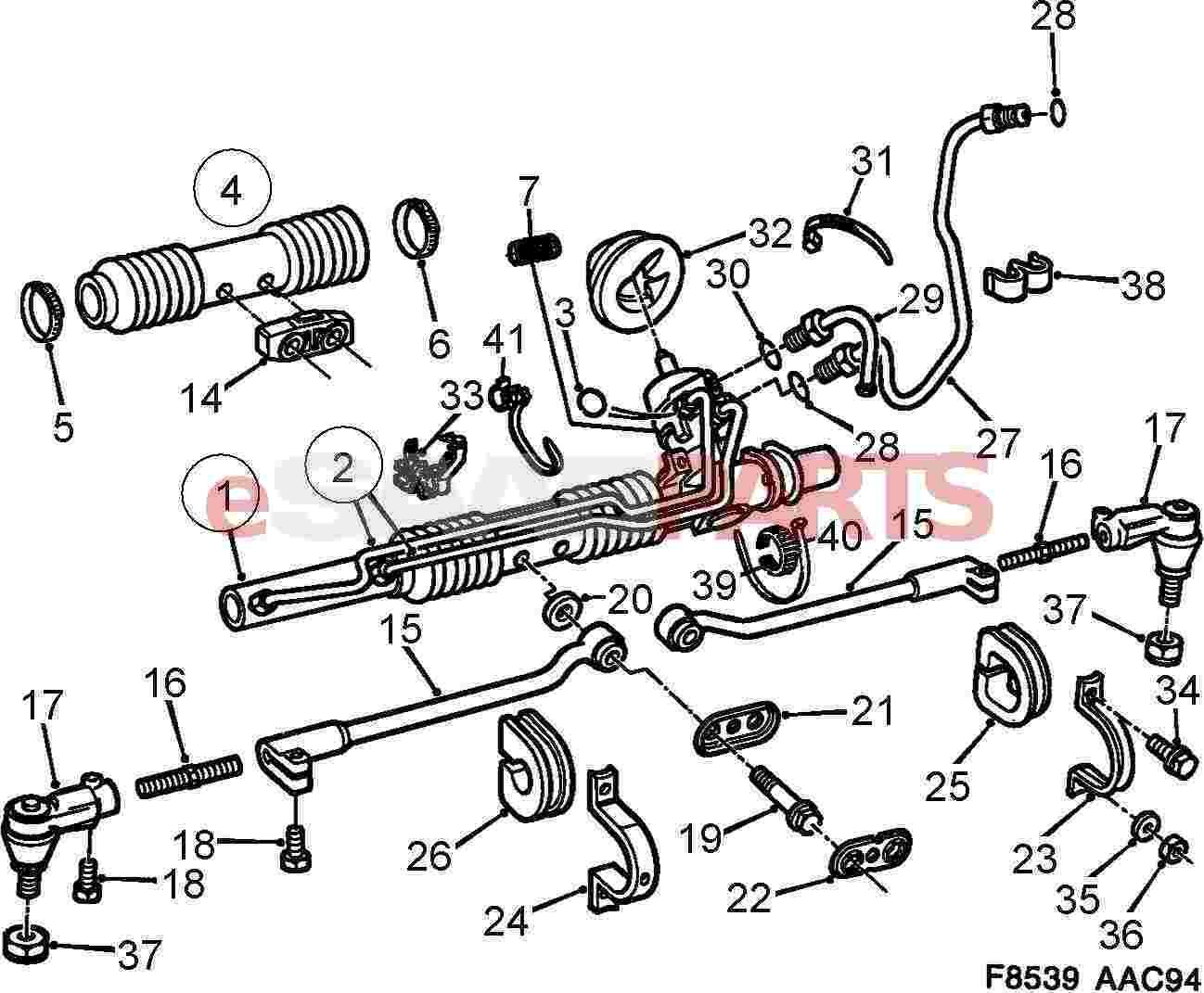 Saab O Ring Power Steering