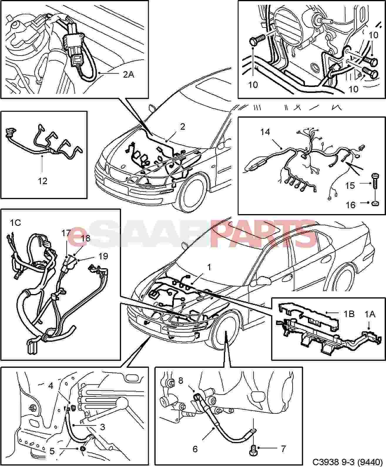 2002 Volvo S60 Engine Wire Diagram