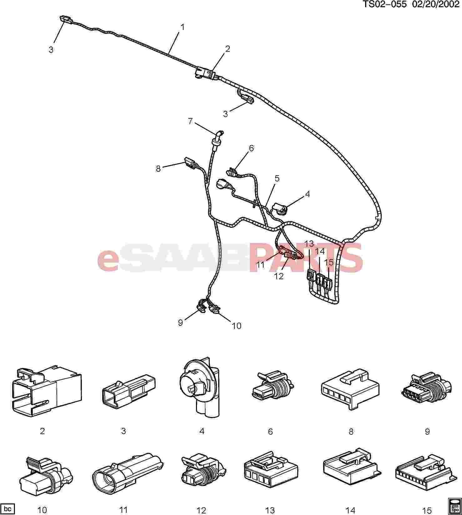 Saab Connector Mdl Dr Lk Cont