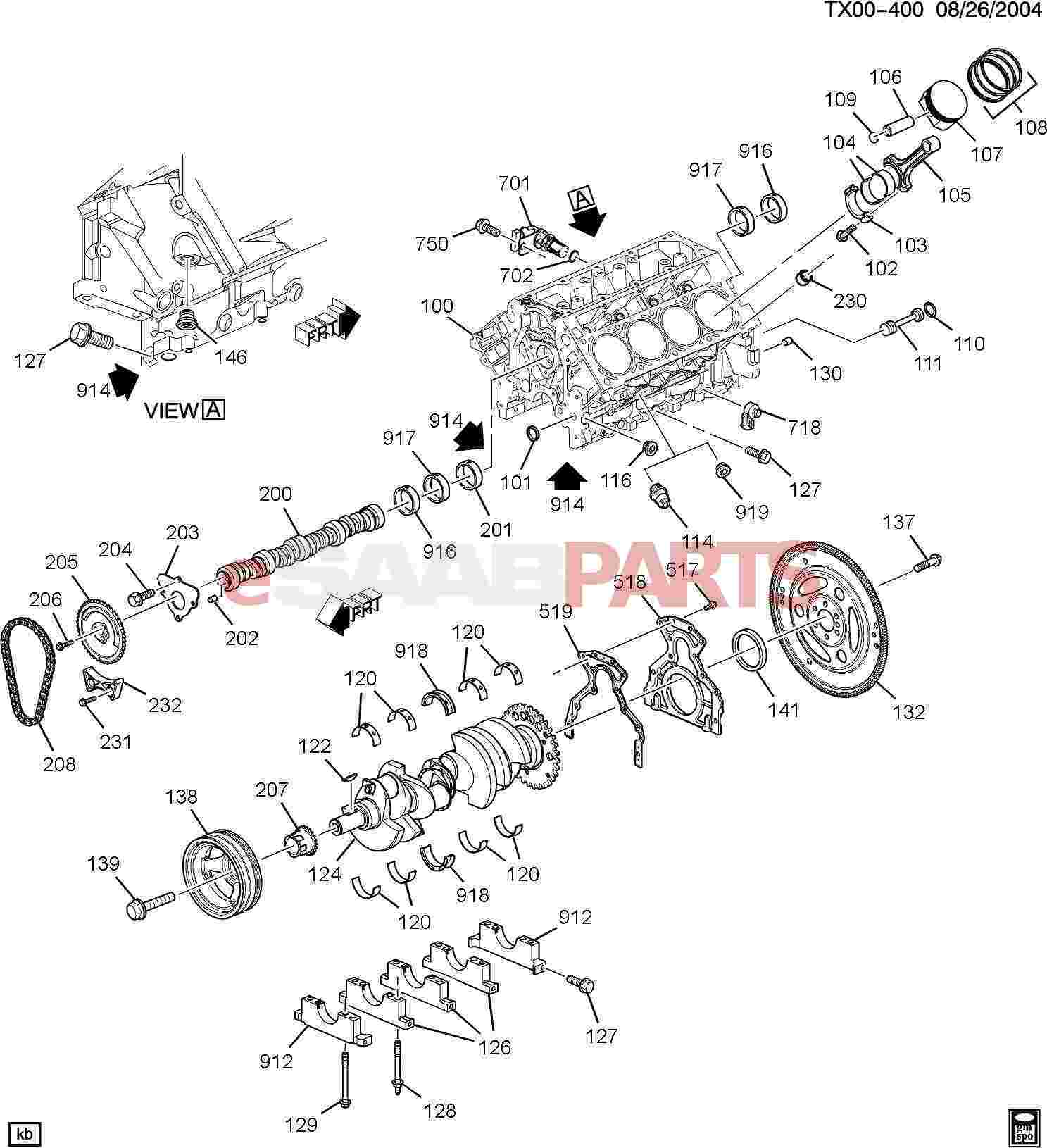 Chevy 5 7 Engine Diagram