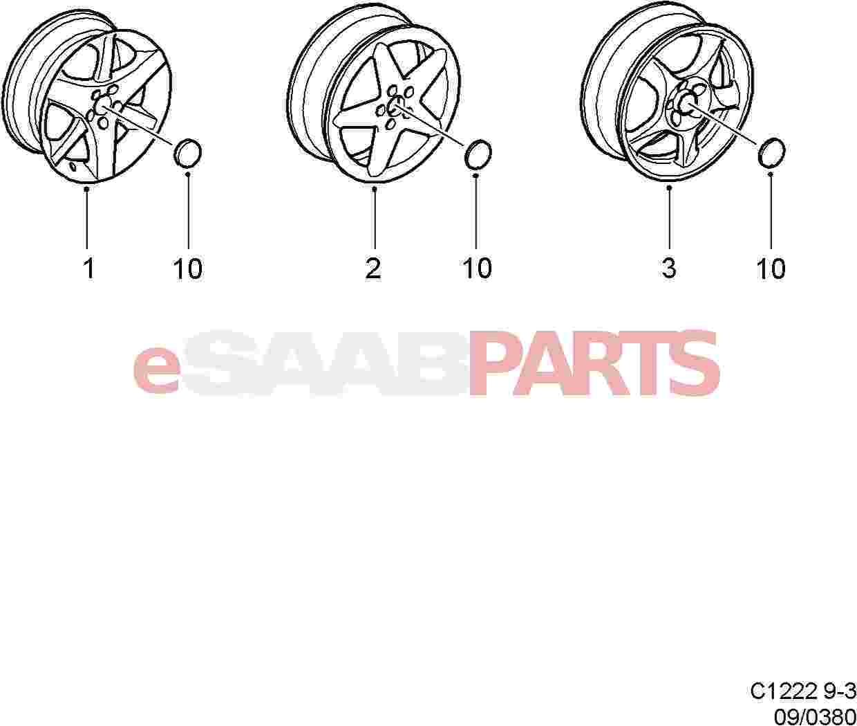 Saab Oes Wheel
