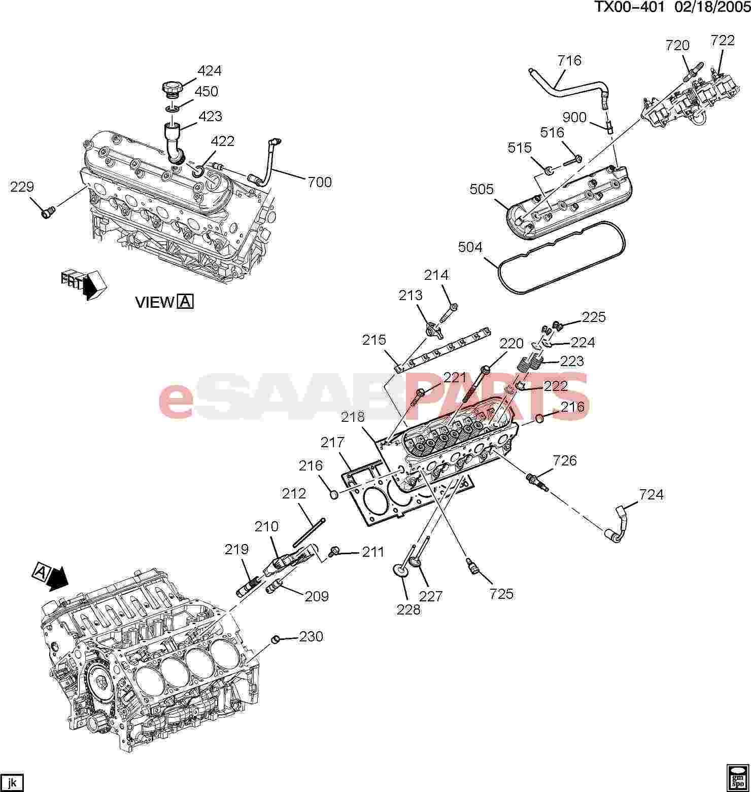 Saab Tube Positive Crankcase Ventilation