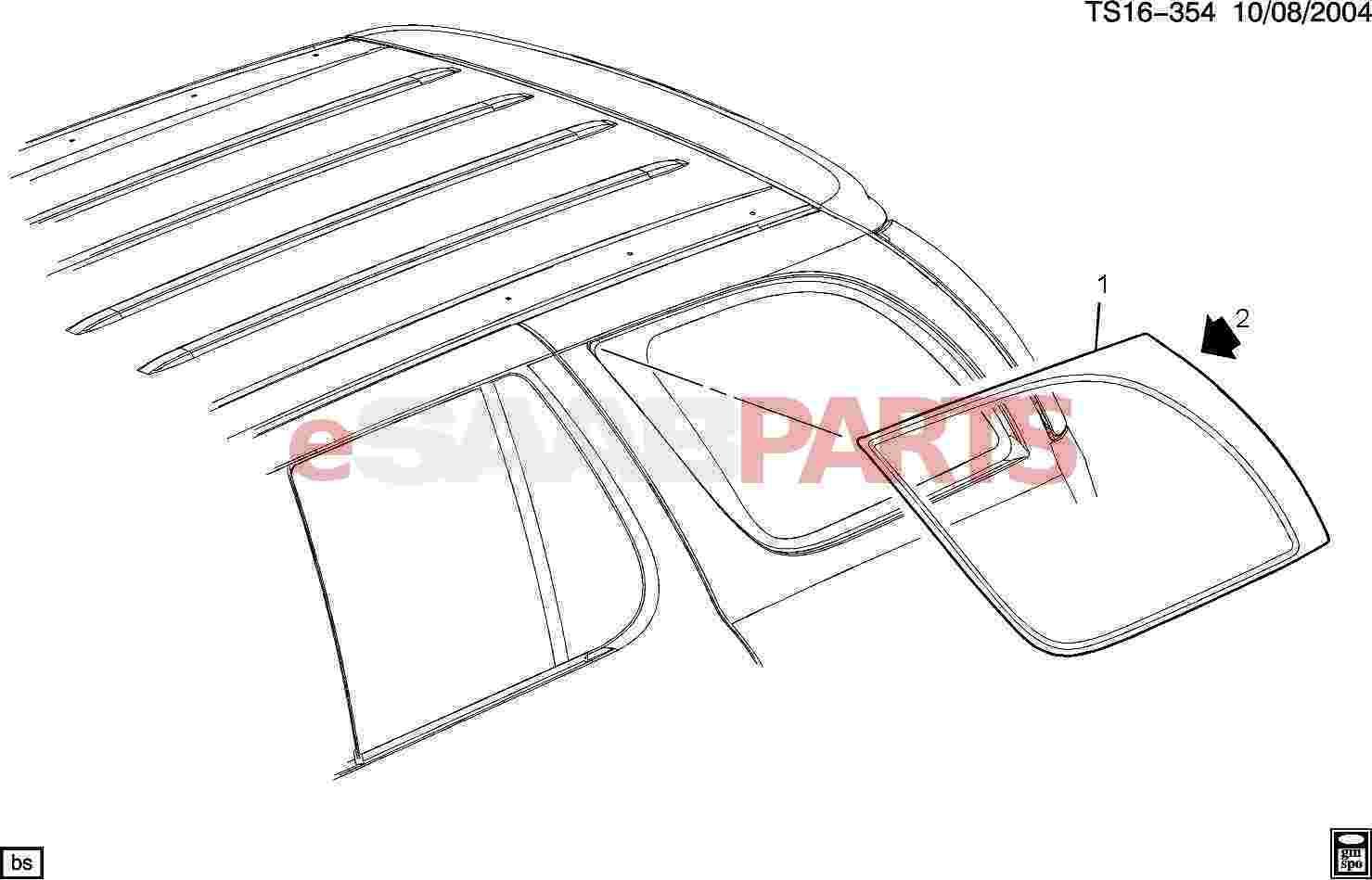 Saab Window Body System International Modern