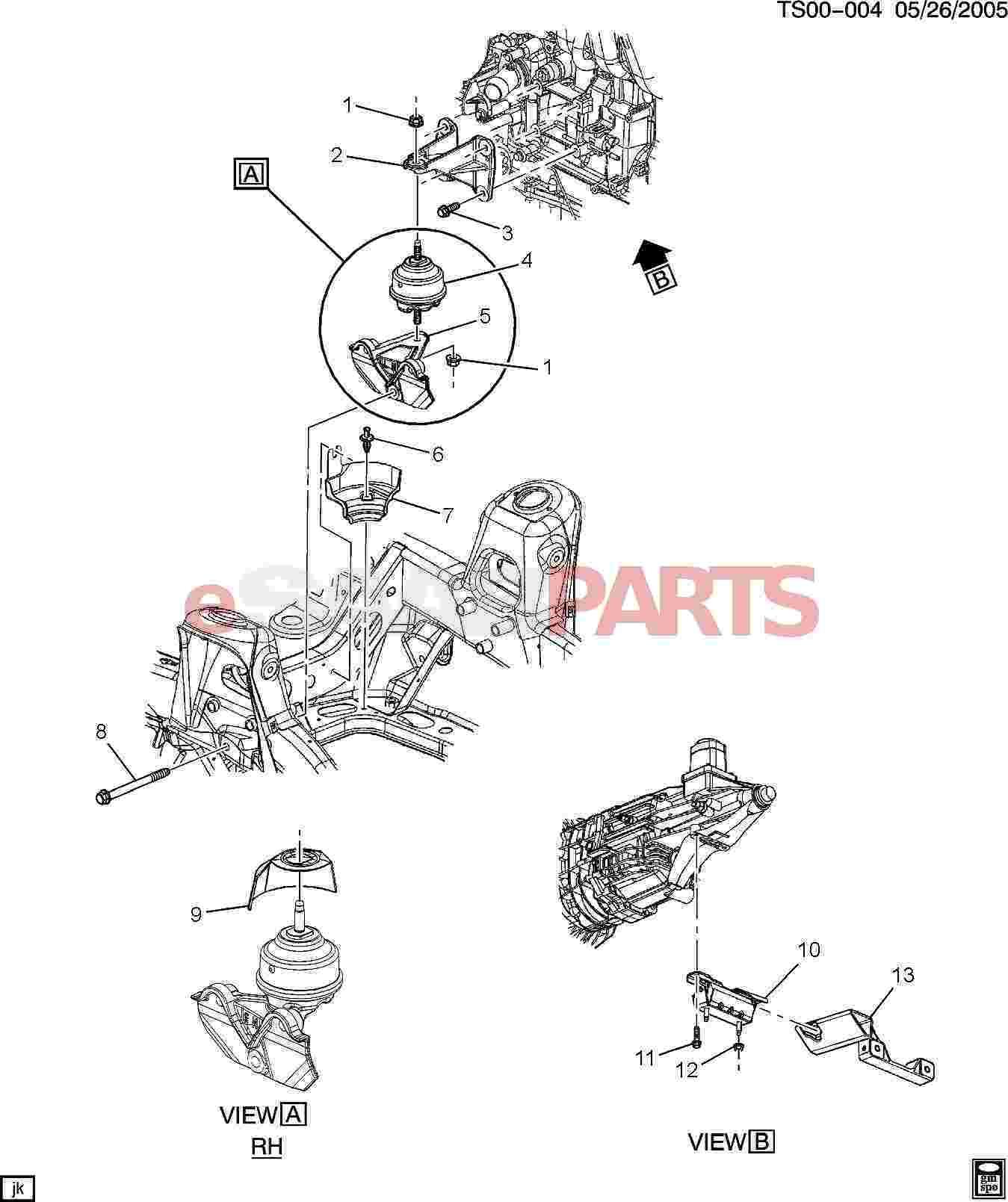 Saab Bracket Engine Mt