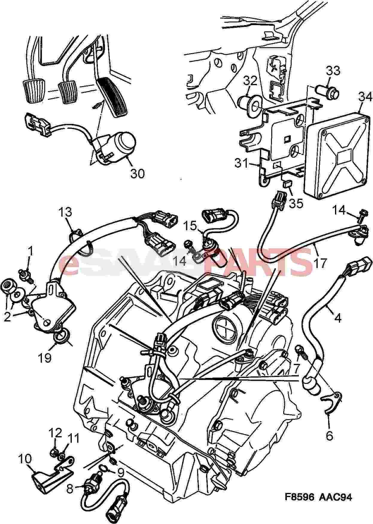 Saab Speed Sensor