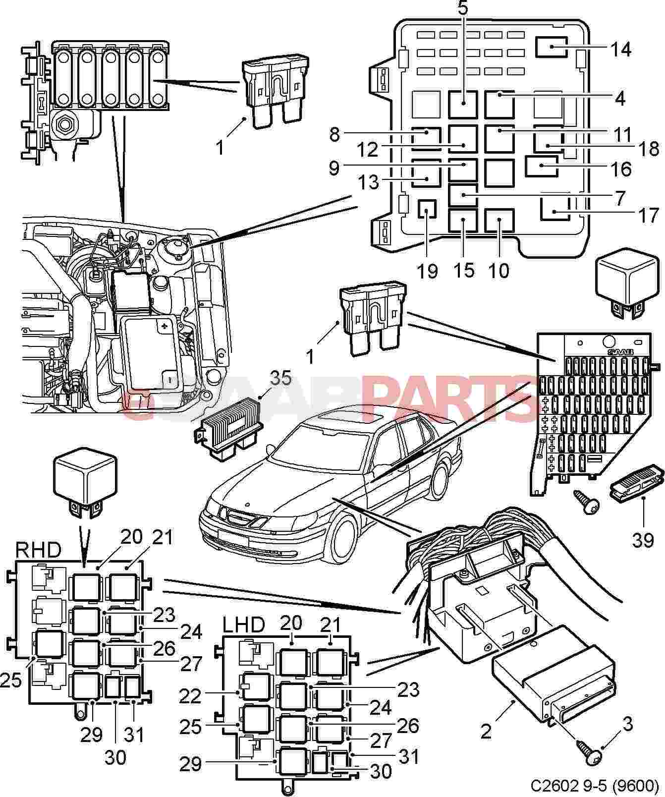 Saab Ignition Switch Location | Wiring Diagram Database on