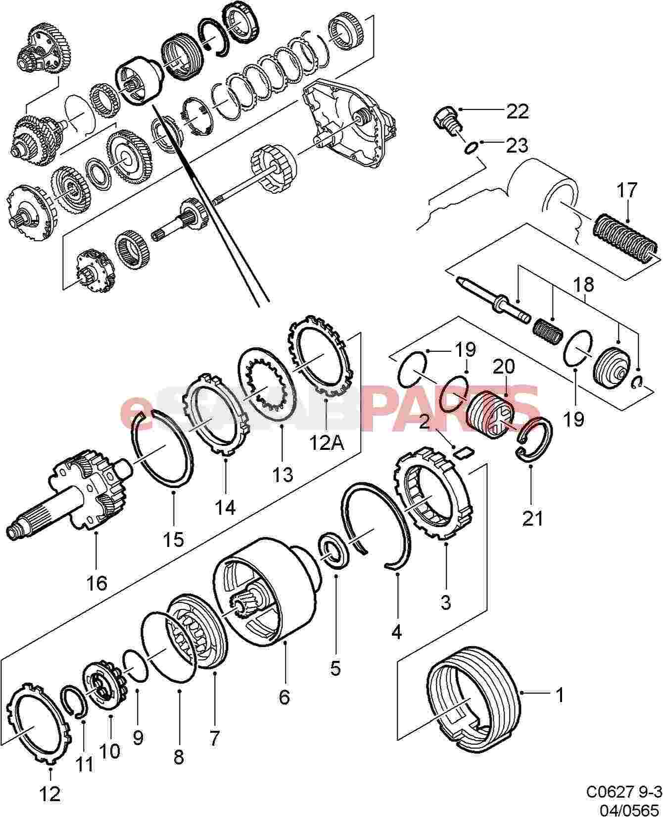 Saab Compression Spring