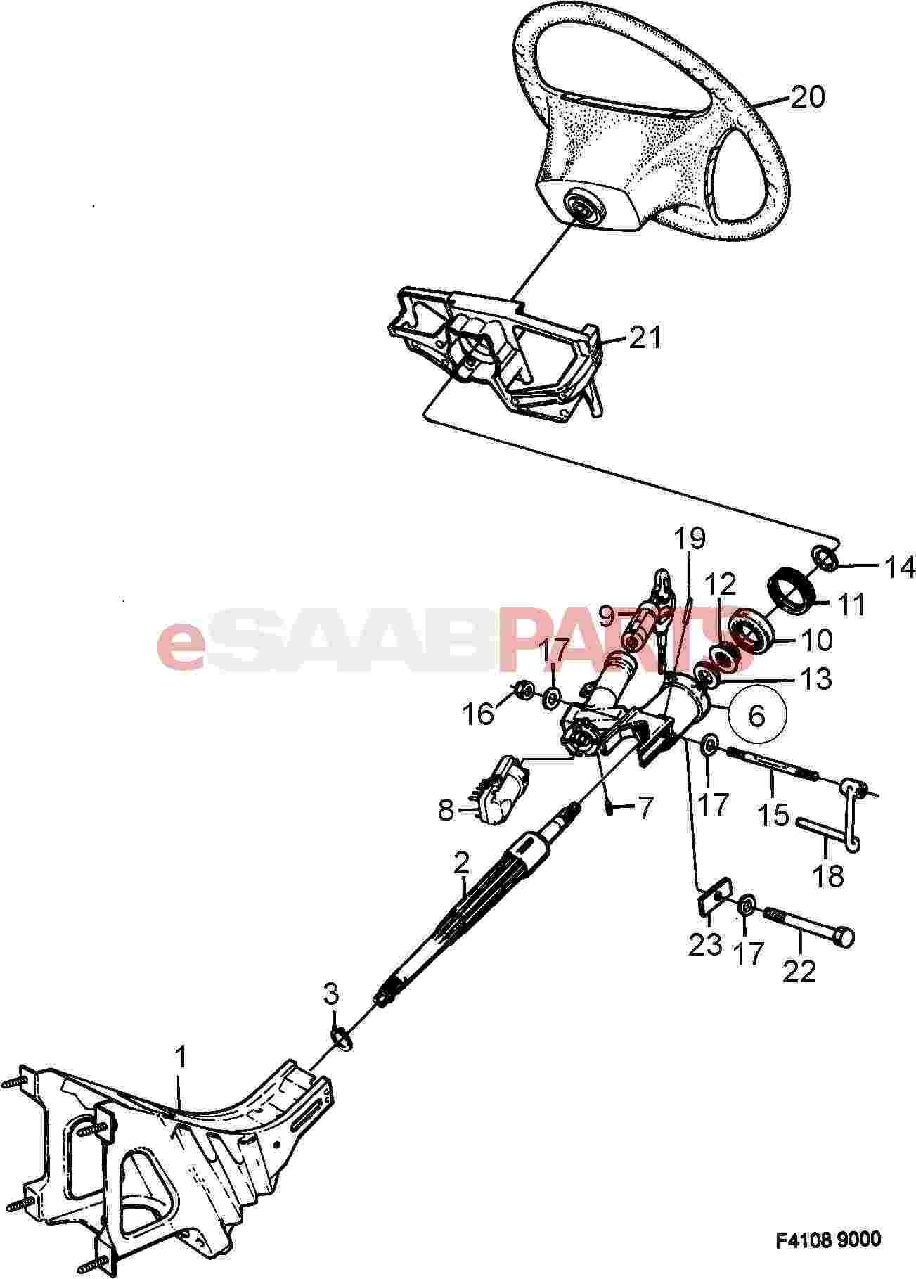 Saab Ball Bearing