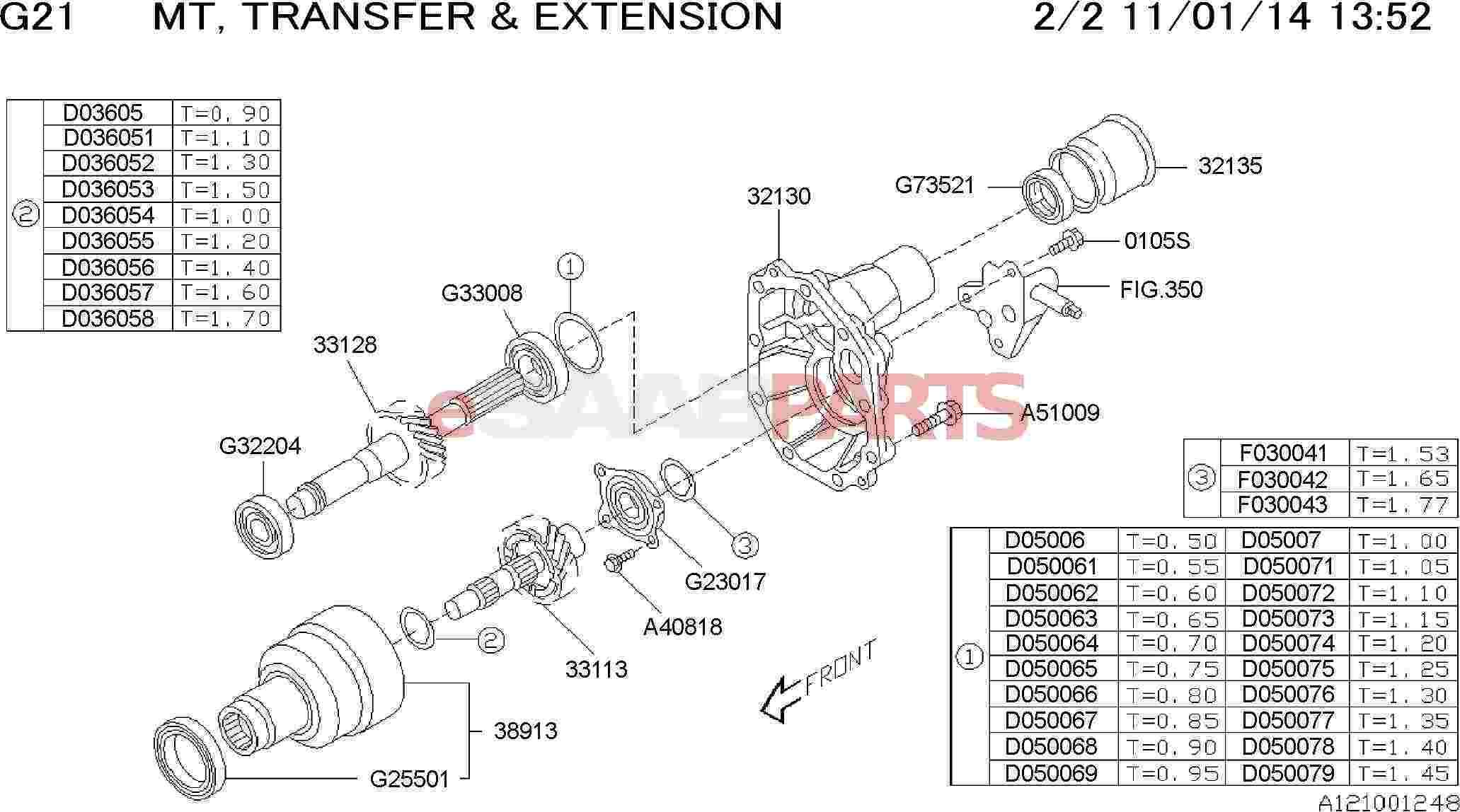 Saab Roller Bearing