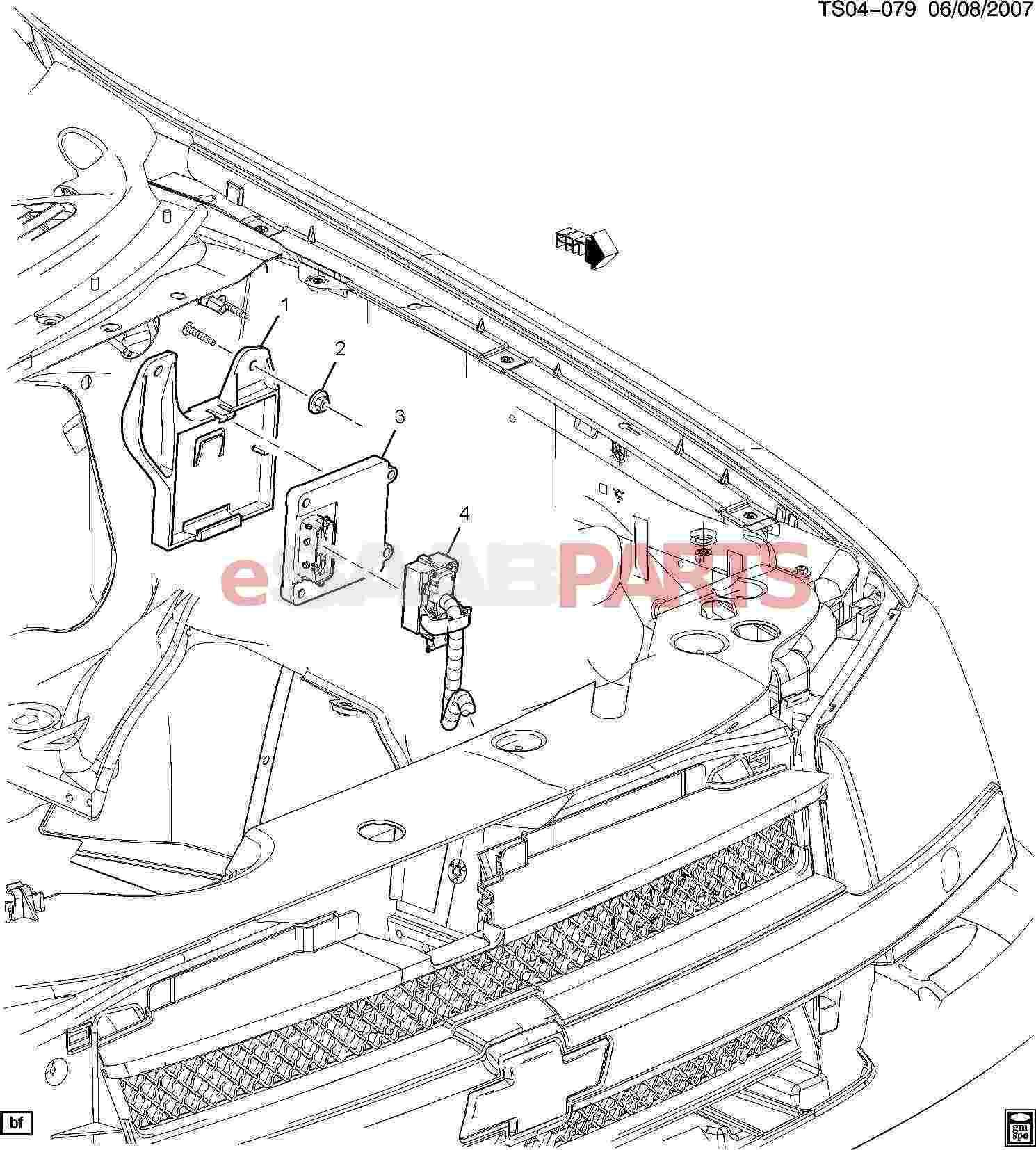 Saab Module Trans Cont