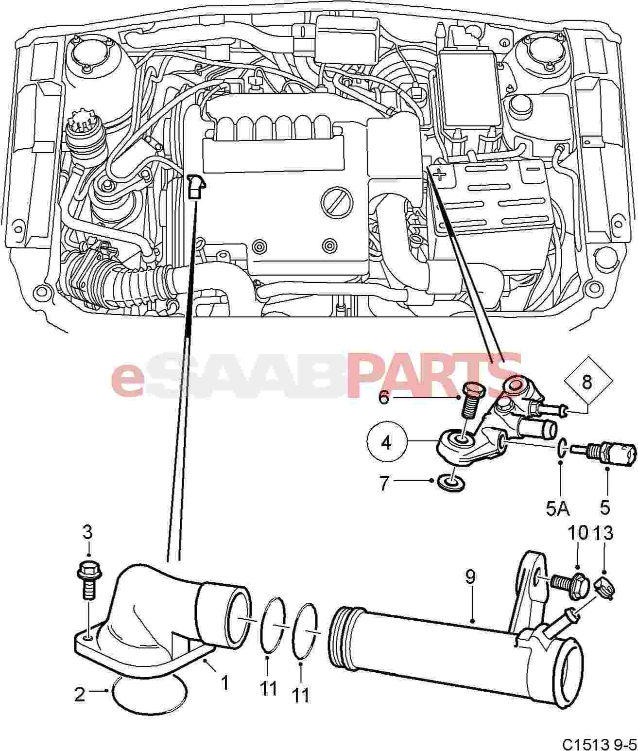 Volvo S60 Engine Wire Diagram