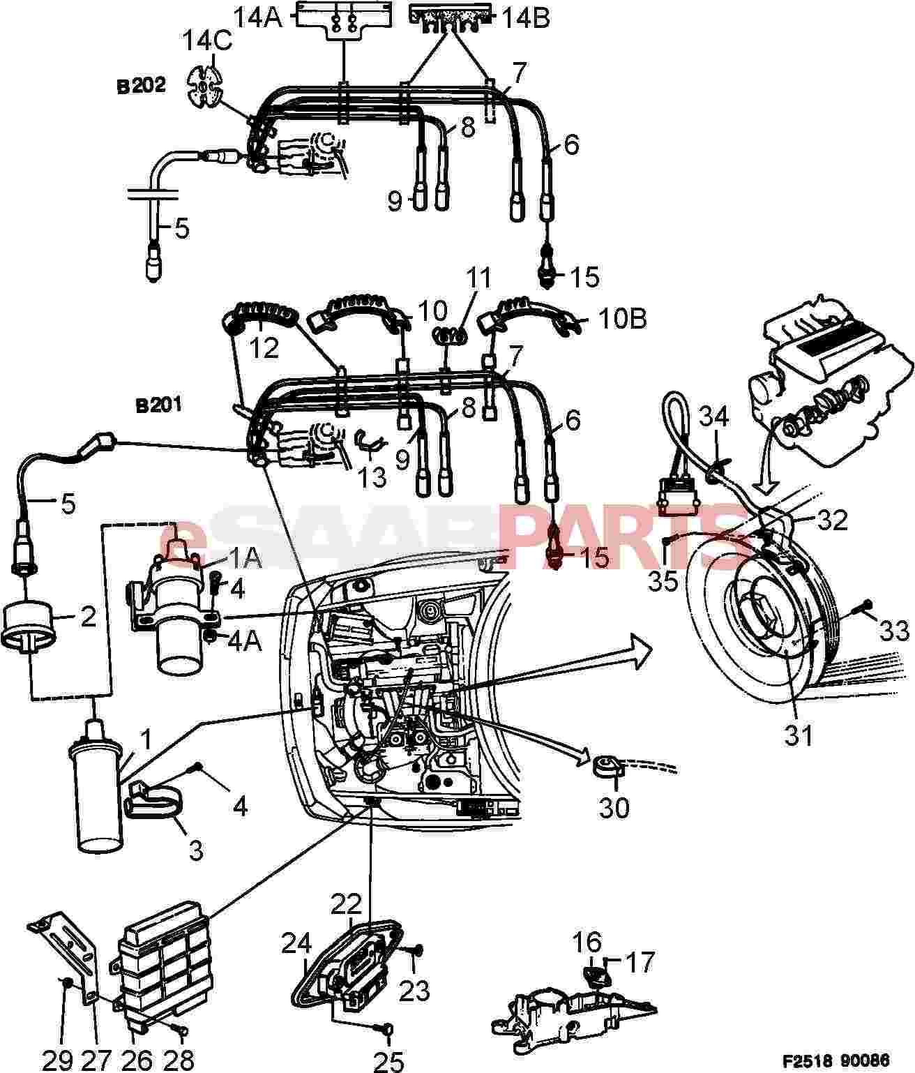 Saab Cps Crank Position Sensor