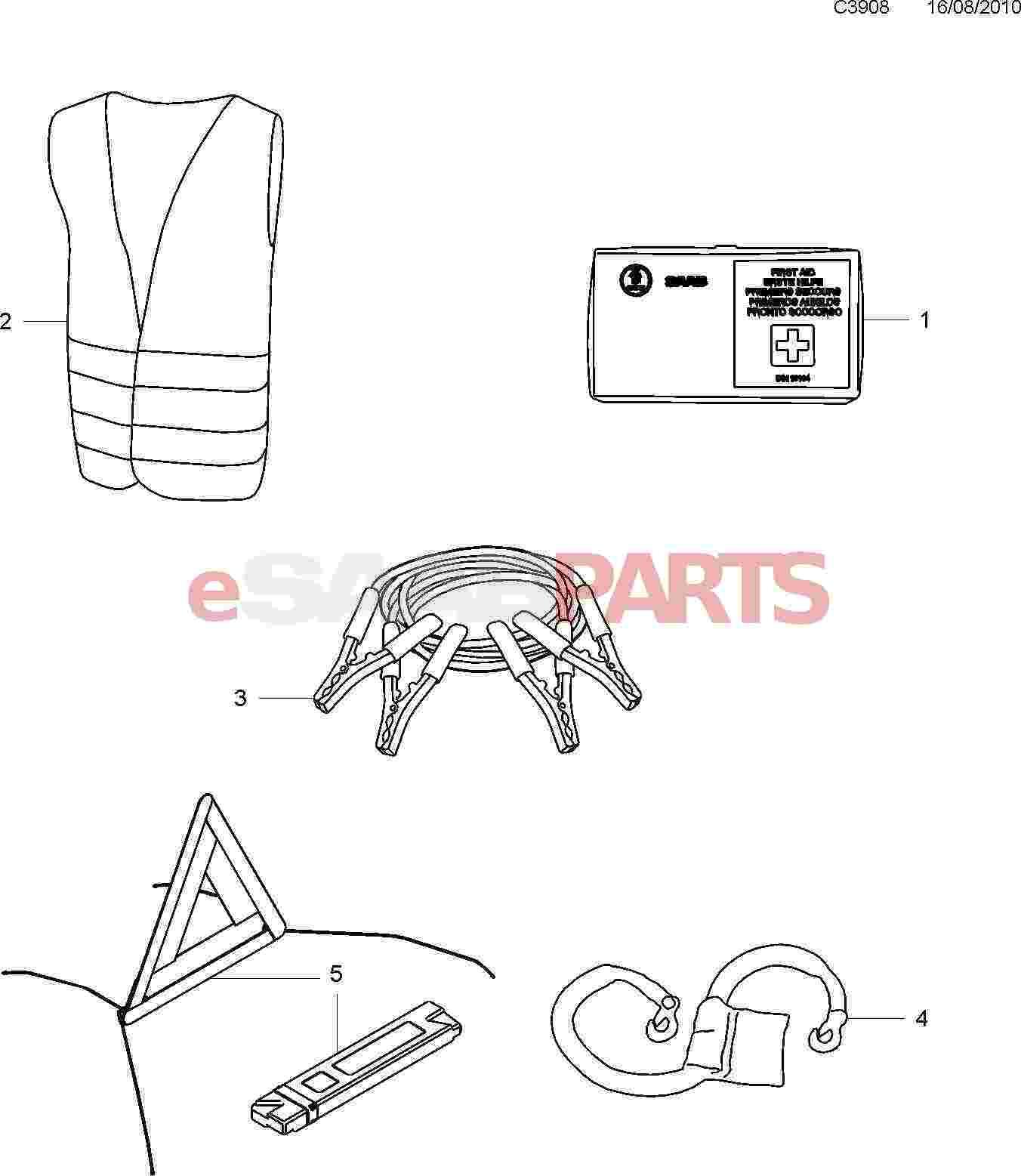 Saab First Aid Kit