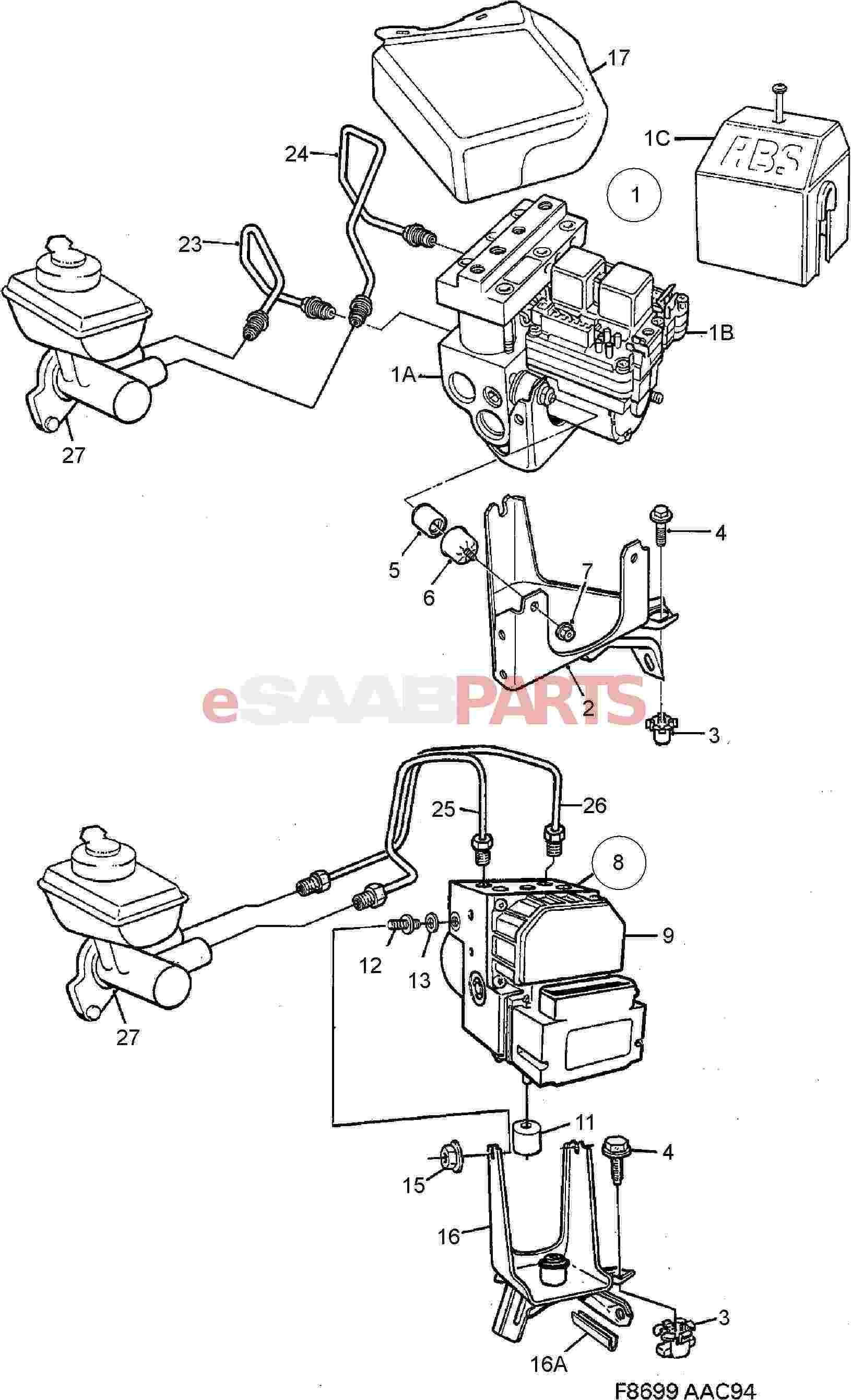Saab Hydraulic Unit