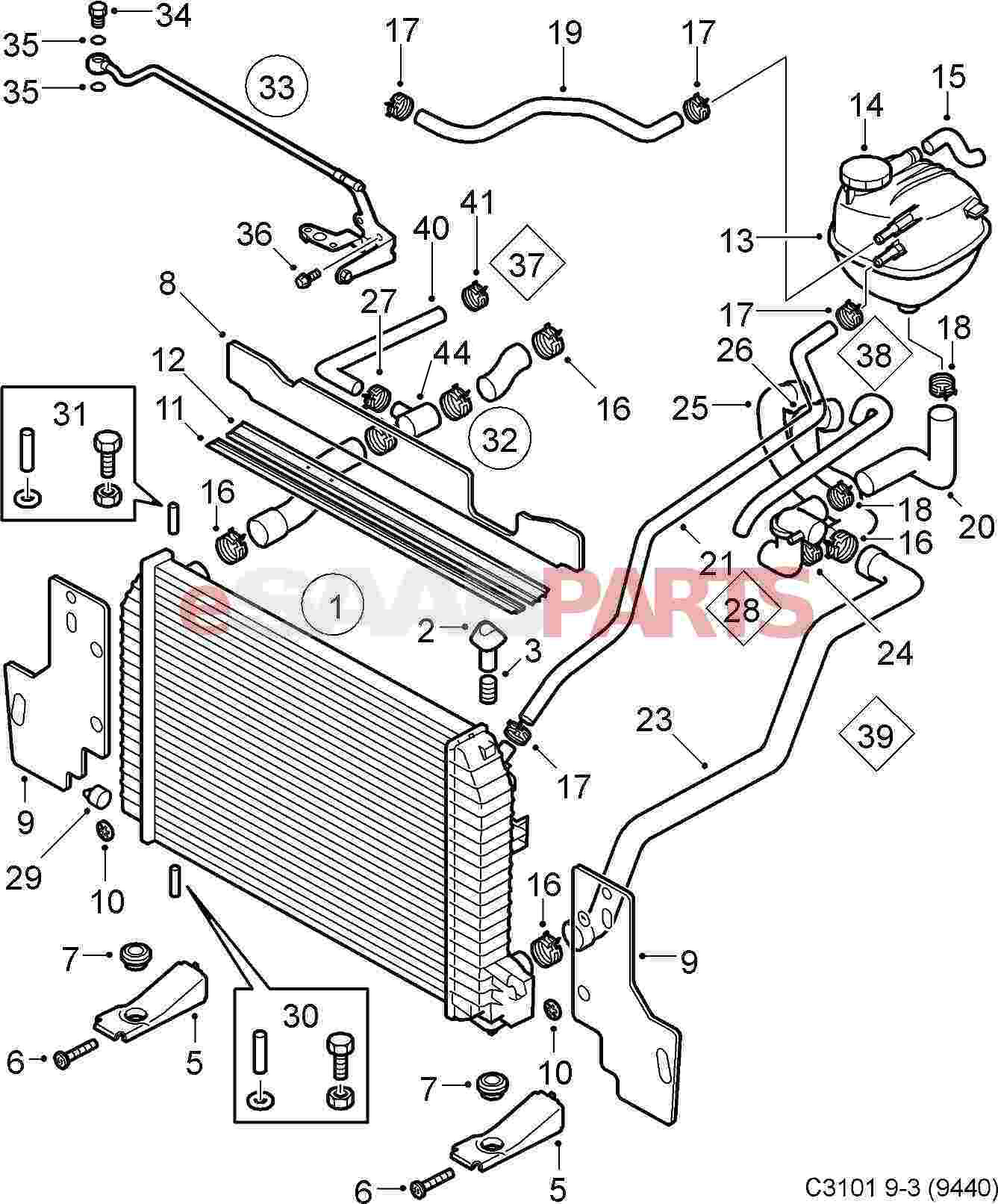 11900513 saab tie strap genuine saab parts from esaabparts rh esaabparts 2003 saab 9 3 fuse box diagram saab 9 3 hose diagram