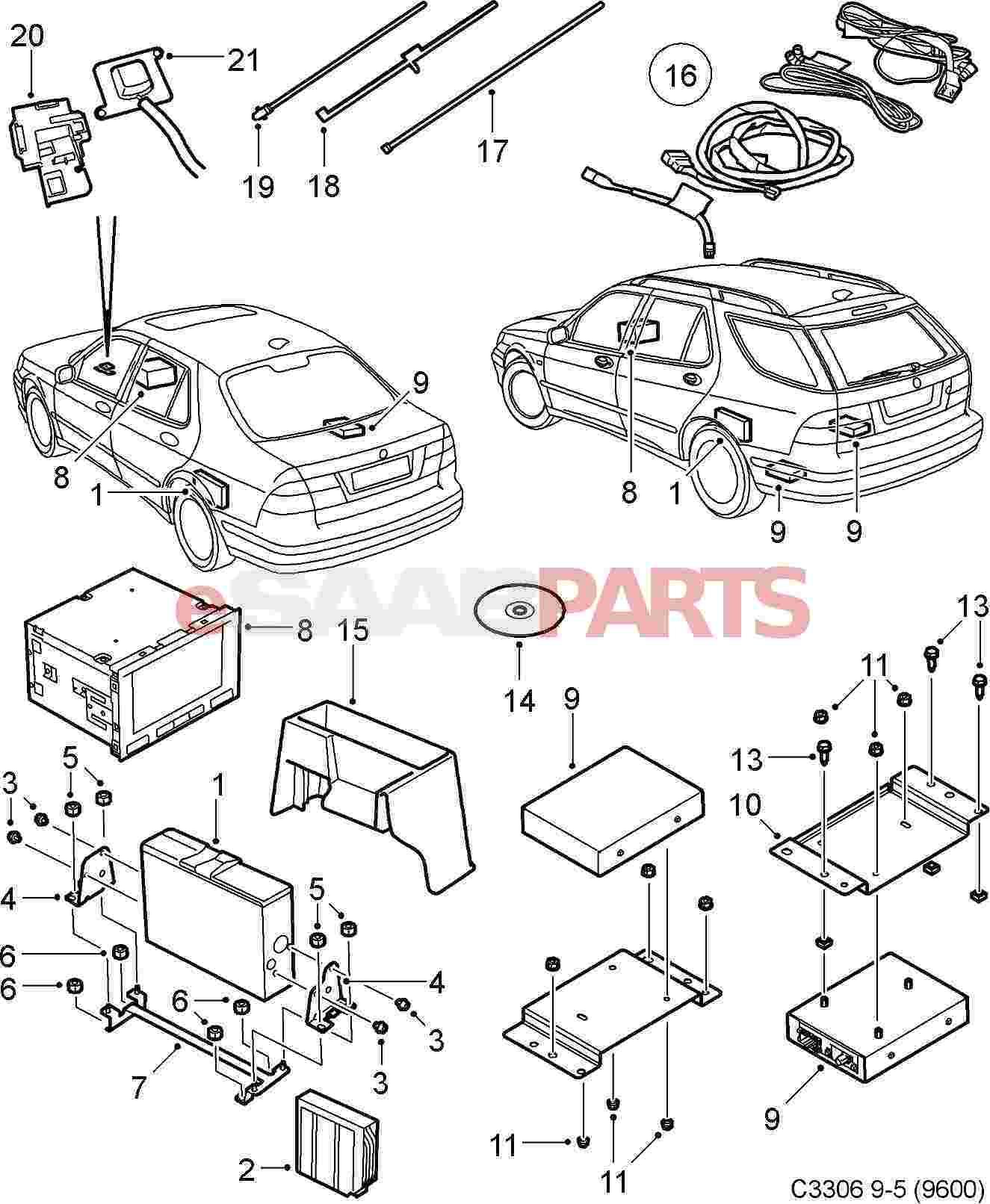 Saab 9 5 Aftermarket Parts