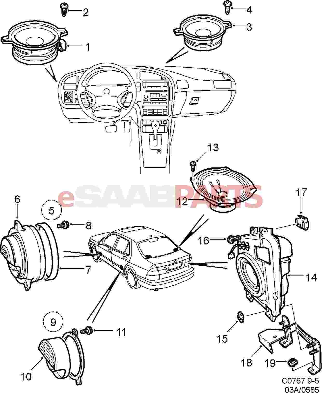 Saab Loudspeaker