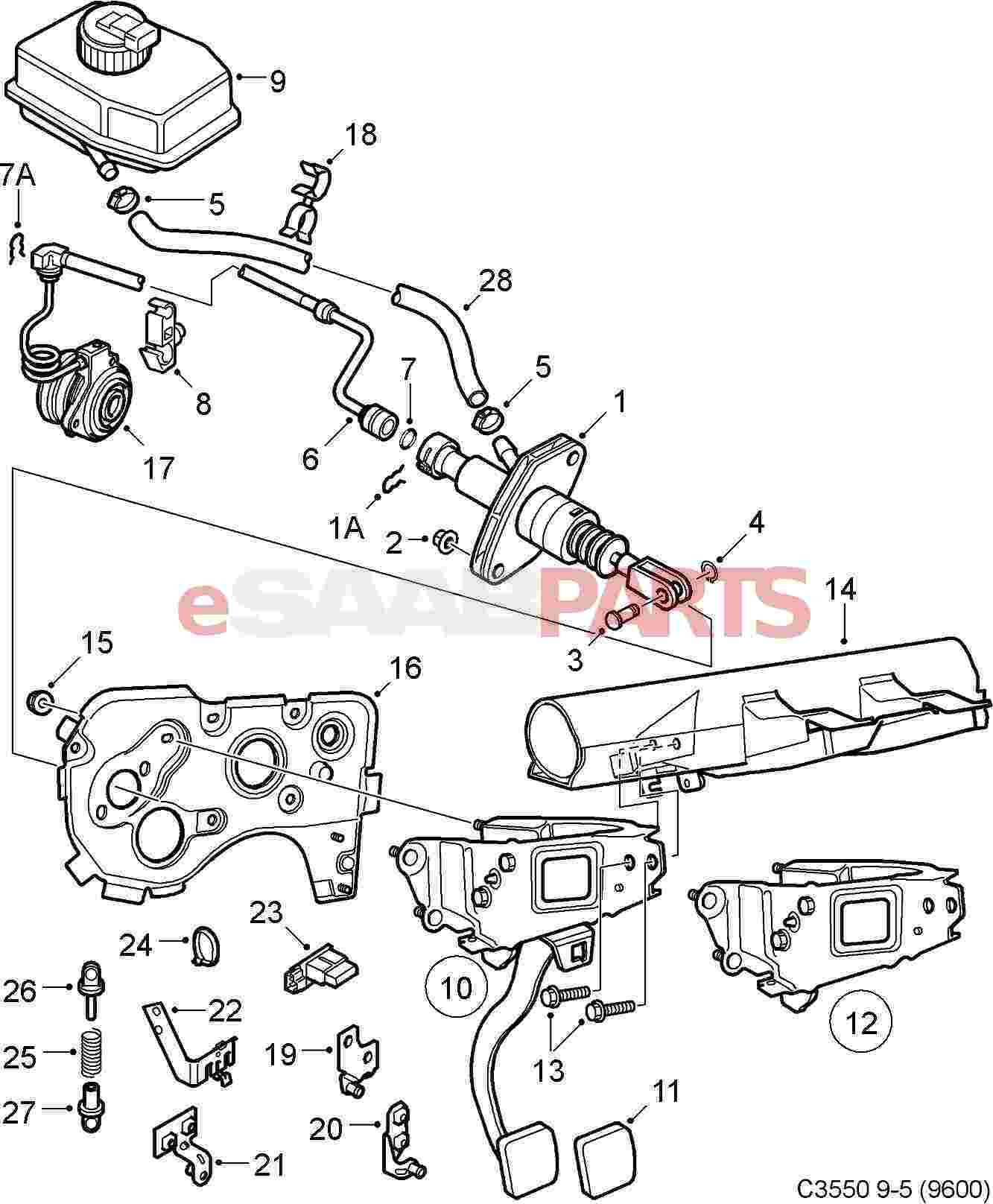 Saab 97x Parts Saab Wiring Diagram Images