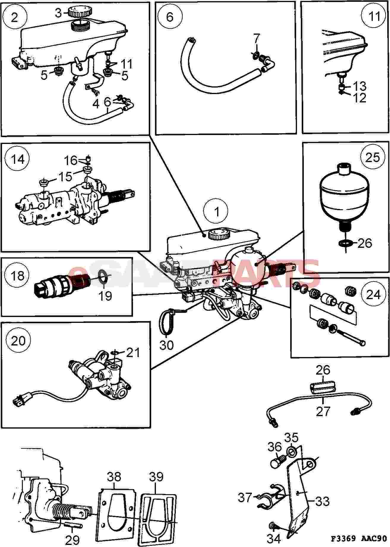 Saab Pressure Monitor