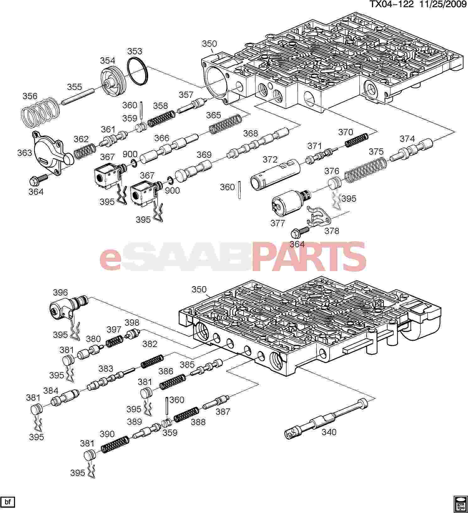 4l80e Valve Body Exploded Diagram