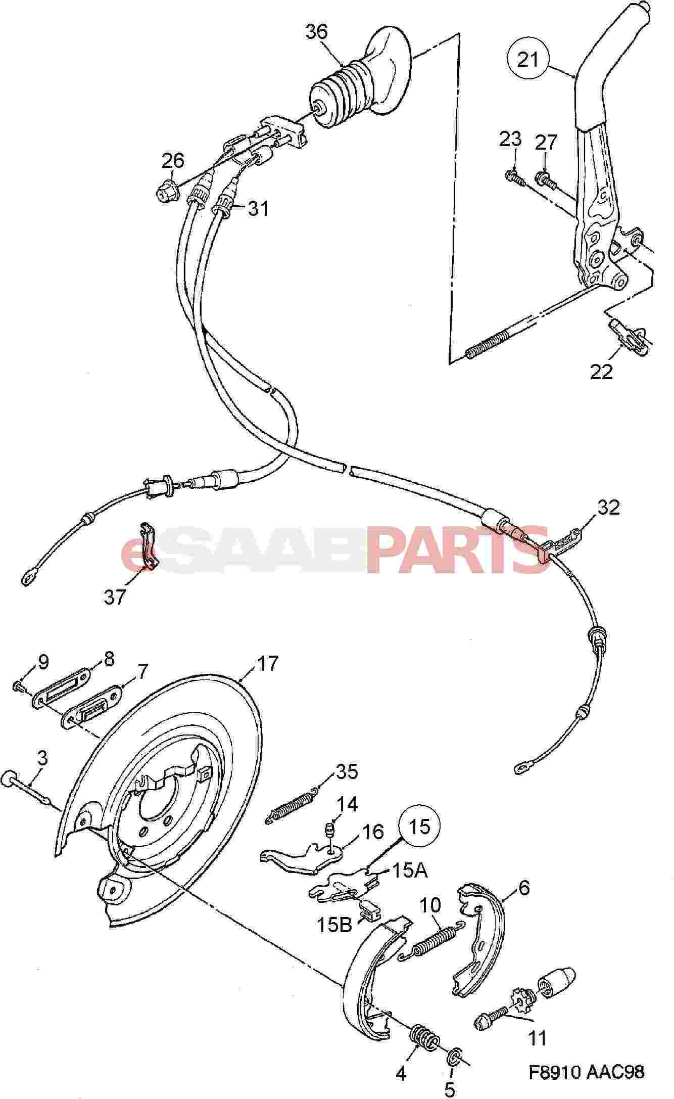 Nissan Pathfinder Diagram Showing Brake Line