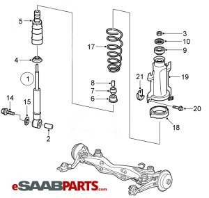 [5233093] SAAB Spring  Genuine Saab Parts from eSaabParts