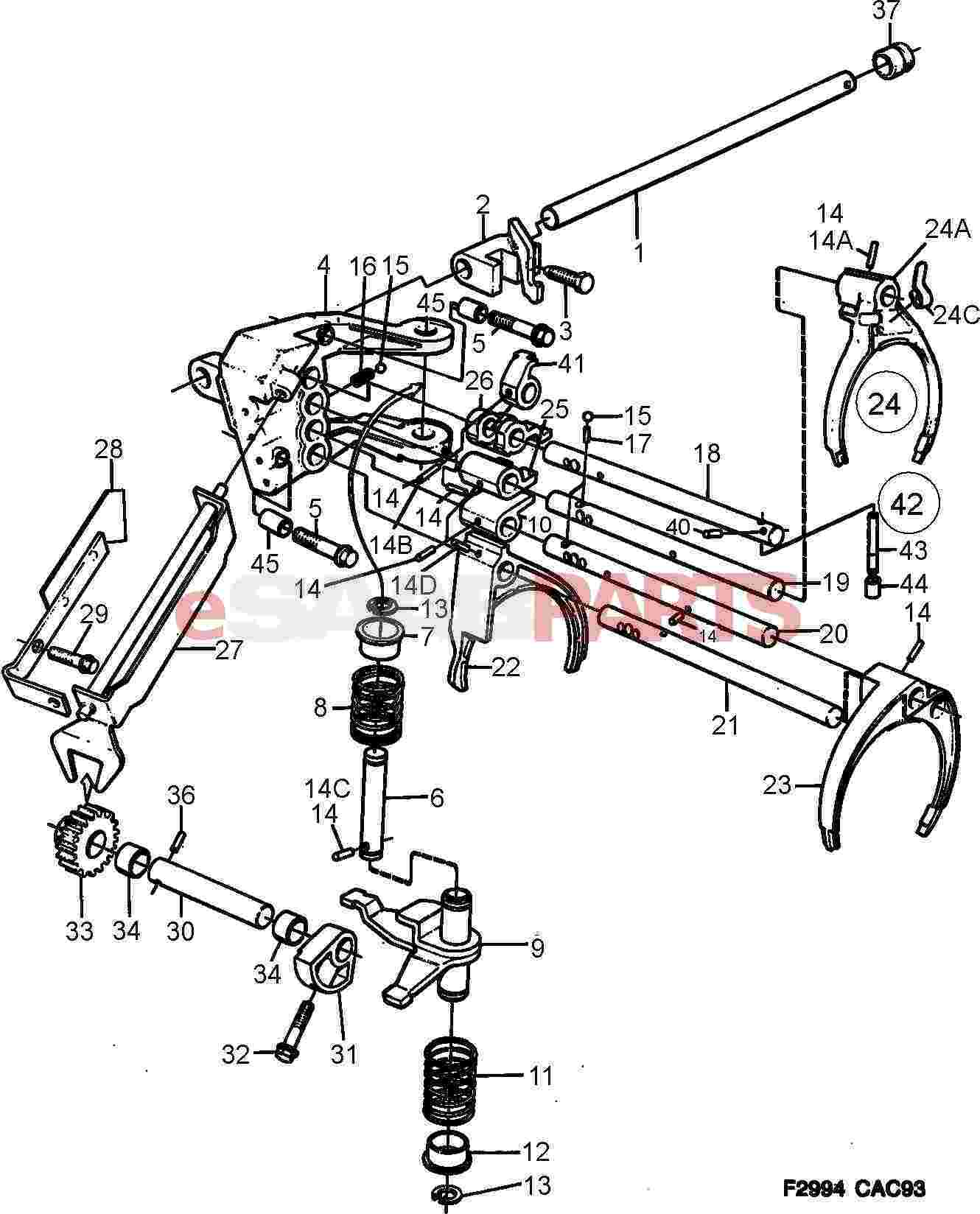 Saab Shift Rail