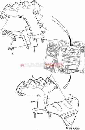 [11094672] SAAB Stud Screw  Genuine Saab Parts from