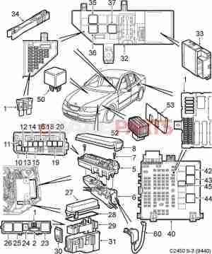 [13266316] SAAB Relay  Genuine Saab Parts from eSaabParts