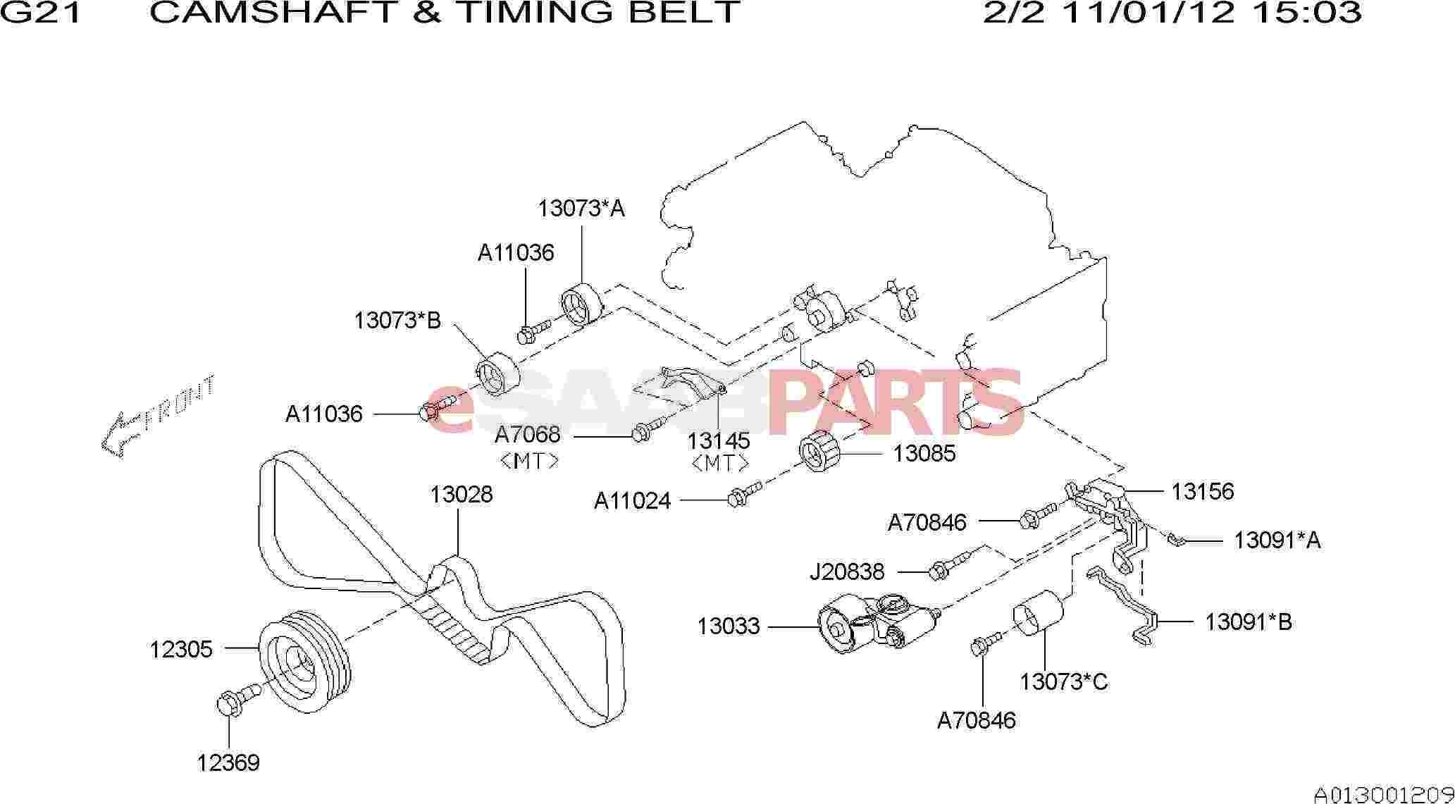 Saab Adjuster Assembly Belt Tensioner