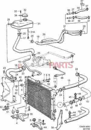 [4395570] SAAB Cap Coolant Expansion Tank  Genuine Saab