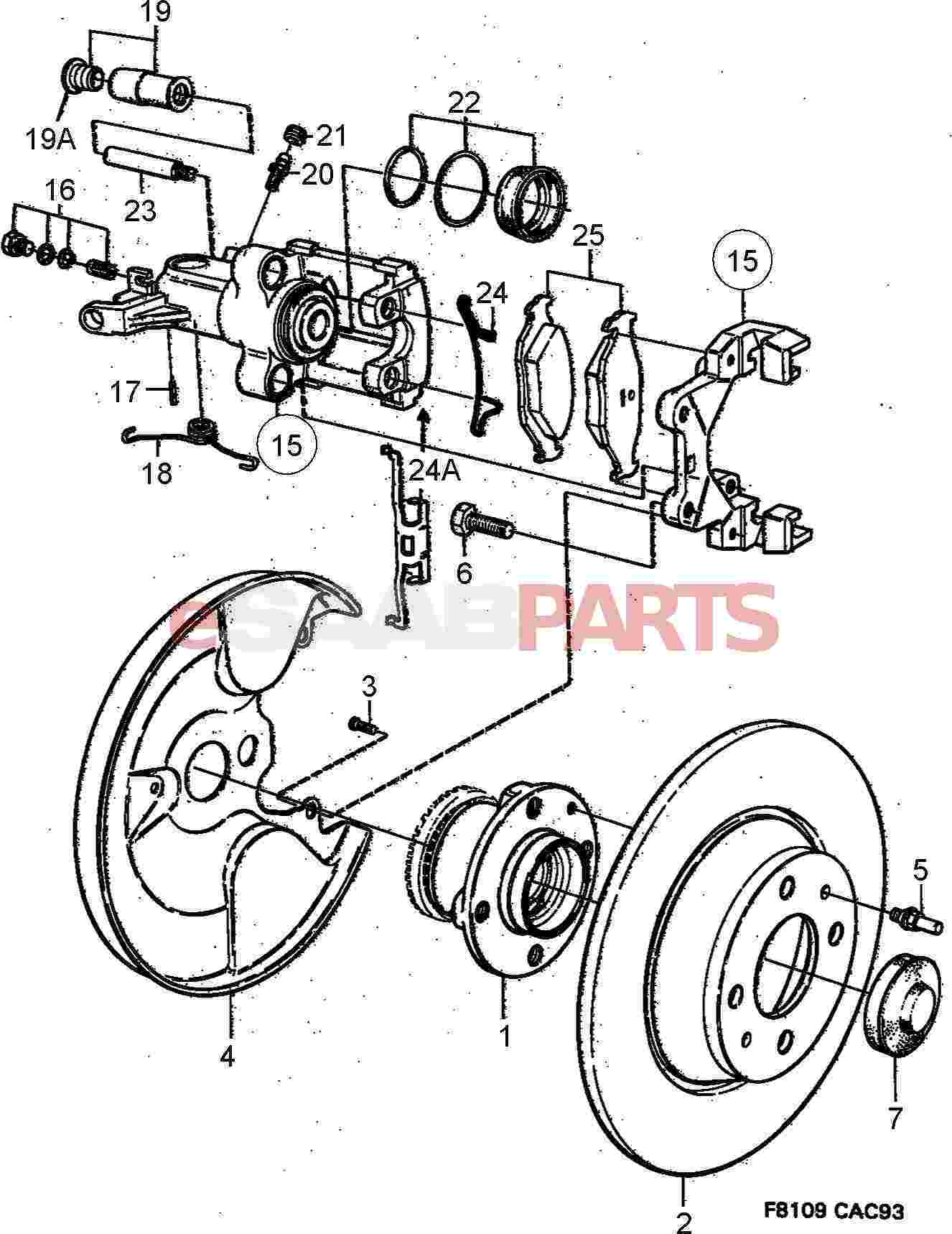 Service Manual Saab Manual Transmission Hub