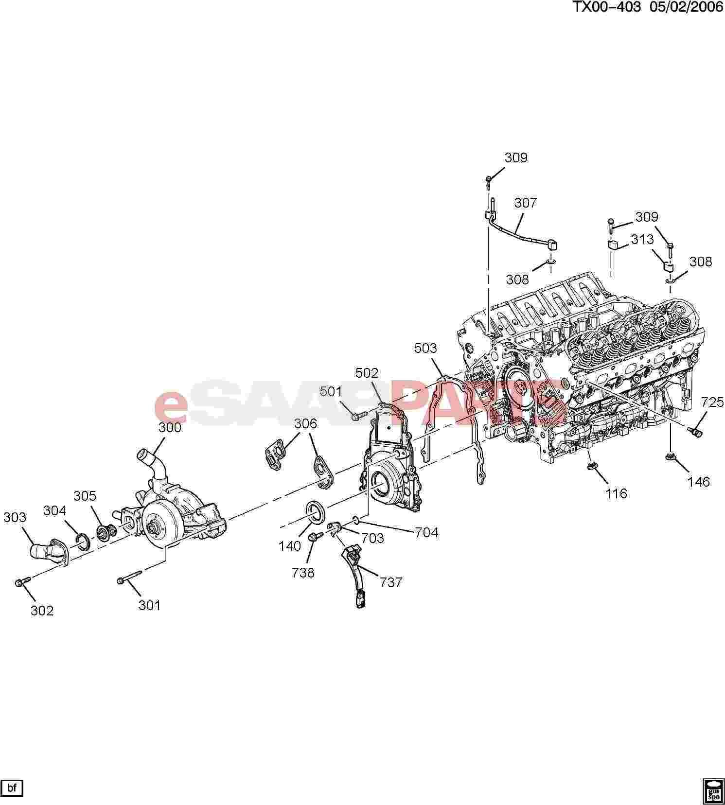 Saab Plug Engine Block Black Coolant Drain