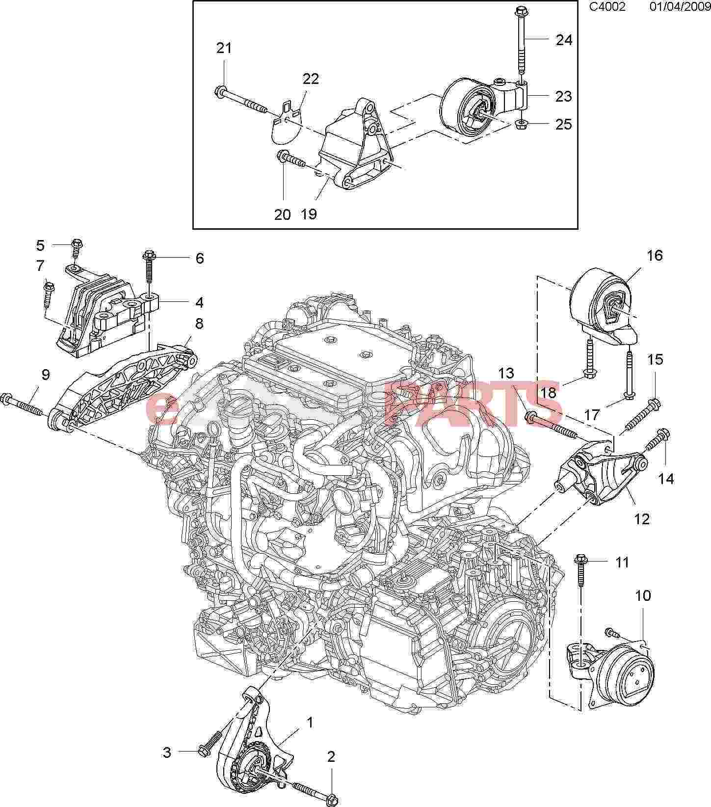 Saab V6 Engine Diagram