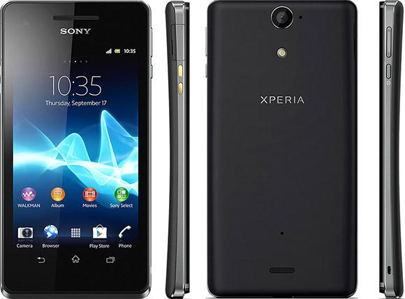Sony Xperia V announced