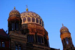 Cúpula de la Nueva Sinagoga