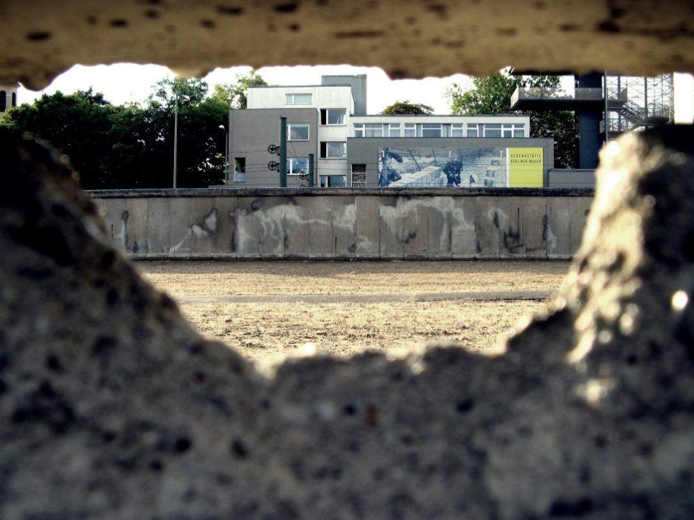 Zona de muerte del Muro de Berlin