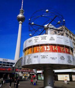Alexander Platz y el Reloj Mundial