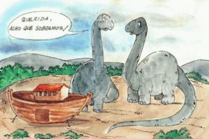 Por que os dinossauros não existem mais?