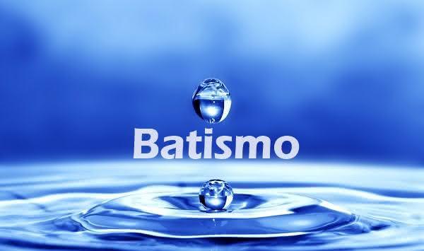 O que significa batismo?