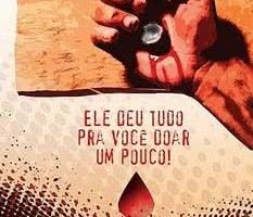 Jesus doou Seu sangue. E você, doa sangue?