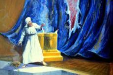 véu do santuário, rasgou, santo dos santos, templo, Jesus Cristo
