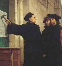 95 teses, reforma protestante, Martinho Lutero, 31 de Outubro