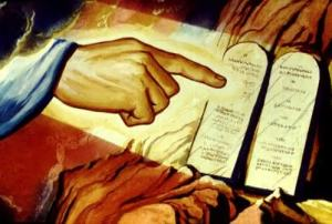 ensino dos 10 mandamentos: prefacio de Deus