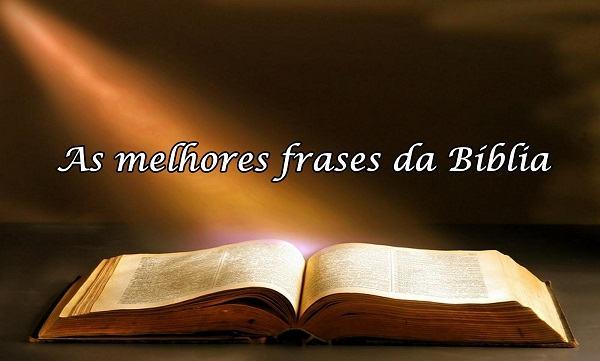 As melhores frases da Bíblia