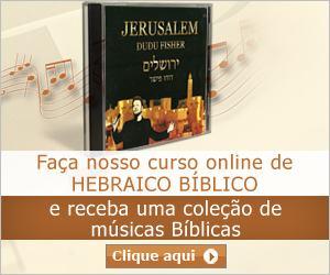 Promoção Curso Online Hebraico Bíblico