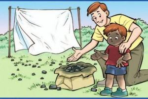 Ilustrações Cristãs: Quem ficou mais sujo?