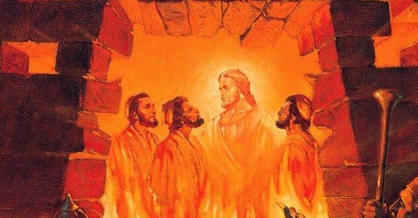 Onde estava Daniel quando Sadraque, Mesaque e Abede-nego foram jogados na fornalha?